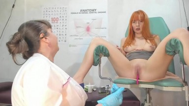 Voyeur cam of busty nurse take care me