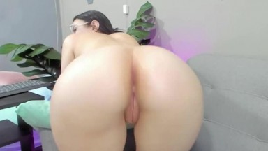 Pov her clean hairless pussy