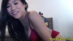 Most Beautiful Asian Girl with Hairy Pussy