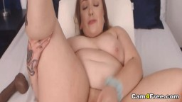 Gorgeous Babe Fucking Herself Live on Cam