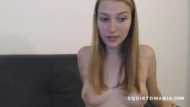 Lovely British Squirter and Friendly Brunette