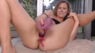 Blonde Teen Squirting Fountain SHE CANT STOP