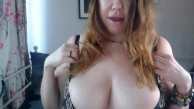 18yo With Massive Double D Natural Tits And Hairy Pussy