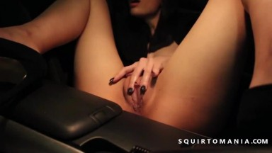 Pretty Brunette Masturbates After Getting Fucked
