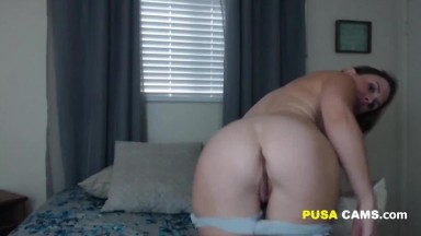 Busty Babe Rides Her Partners Huge Cock
