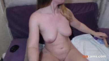 Beautiful Amateur Mom got Horny and Masturbates at Home