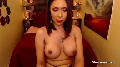 Tranny Nikita Cumming Out