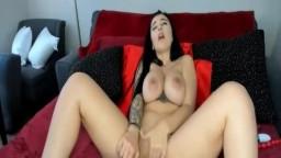 Perfect Beauty Slim Brunette Exposes Body On Webcam